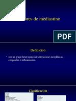 Tumores de Mediastino