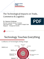 The Technological Impacts on Trade, Commerce & Logistics