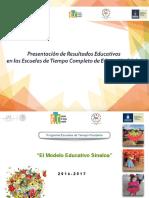 1. Petc Modelo Educativo Sinaloa y Resultados Educativos 21-Septiembre de 2016