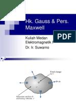 04. Medan Elektromagnetik - Hukum Gauss Dan Persamaan Maxwell