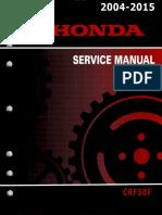 Honda CRF50F Service Repair Manual 2004-2015