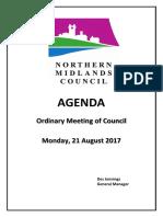 Northern Midlands Council Agenda August