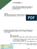 Tutorials 1 to 4 (Solution)