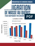 Immigration de masse au Québec