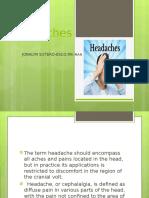 Headache f