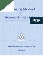 Texas Guide to Rainwater Harvesting - 2005