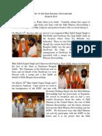 Sikh Dharma Report by Sat Jivan-Report to SDS on Trip to India 2010 with Bhai Sahib Satpal Singh Khalsa