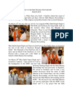 Sikh Dharma Report by Sat Jivan-Report to SDS on Trip to India 2010 with Bhai Sahib Satpal Singh Khalsa