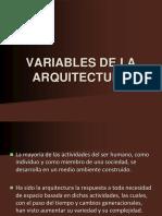 Clase 4.Variables de La Arquitectura.b