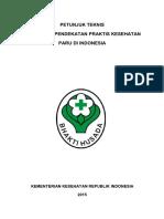 Buku Petunjuk Teknis Pendekatan Praktis Kesehatan Paru PAL