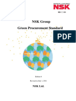 NSK Group Green Procurement Standard Edition 6