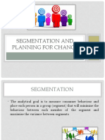 2.Segmentation and Planning for Change