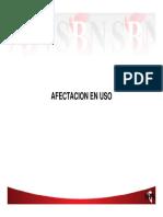 SBN - Afectación y Reasignación de Uso de Dominio Público
