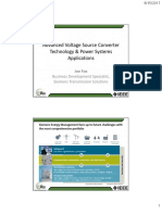 Advanced Voltage Source Converter Technology & Power Systems Applications_Final