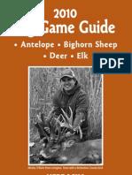 2010 Big Game Guide