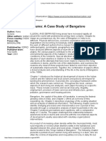 Living in India's Slums_ a Case Study of Bangalore