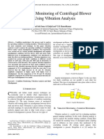 Condition Monitoring of Centrifugal Blower Using Vibration Analysis.pdf