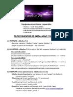 Sibelius 7.5 - Procedimentos de Instalação e Registro.pdf