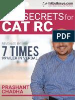 Top Secrets for CAT RC - Prashant Chadha.pdf