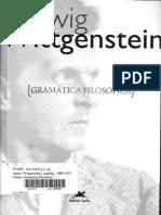 Gramática Filosófica - Ludwig Wittgenstein