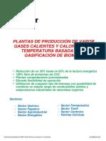 Folleto Plantas Gasificación ESPAÑOL