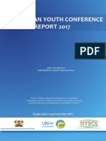 Pan-African Youth Conference Report - 2017