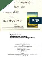 Guía del conjunto megalítico de Valencia de Alcántara por F. Bejarano