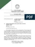 Foreclosure Fraud Marshall C Watson Attorney General Subpoena