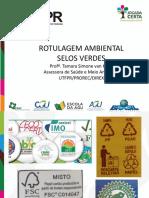 24-04 - UTFPR - Rotulagem e Selos Verdes