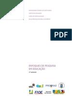 Livro Texto - Enfoques de _pesquisa_educacao