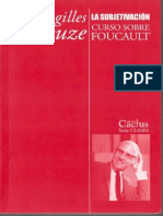 Curso Sobre Foucault III La Subjetivacion