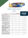 Math Final Pre Test