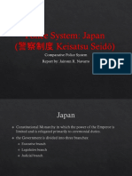Comparative Police System - Japan