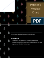 1. Patients Medical Chart