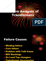 Failure Analysis of Transformers