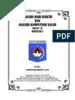 Analisis Hari Efektif Amir