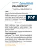 Metodologia Para La Ejecucion Constructiva de La Superestructura Sobre El Rio Tolten