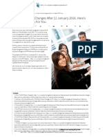 The PMP® Exam Changes After 11 January 2016