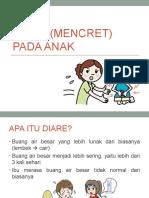 Diare (Mencret) Pada Anak