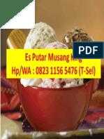 Termurah & Bergaransi, Produsen Es Putar Pak Kumis Makassar, Call/WA
