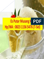Termurah & Bergaransi, Distributor Es Putar Pak Kumis Makassar, Call/WA