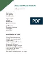 POEMAS DE WILLIAM CARLOS WILLIAMS.docx