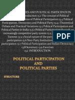 Political Parties and Political Participation