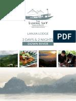 3D2N Cruisotel Luang Say & Lanjia Lodge 2017-2018