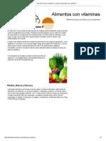 Alimentos Ricos en Vitamina K _ Lista de Alimentos Con Vitamina K