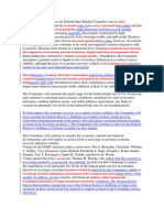 Fomc Word for Word Changes
