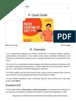 R Quick Guide