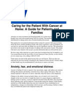 Caring for the Patient With Cancer at Home