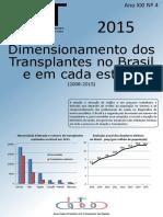 Dados  sobre Transplante de Órgãos - ABTO