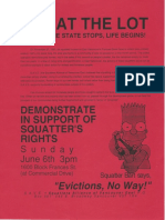Vancouver Squatting Documentation - 1990
